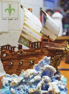 barca dolce - Cake by Crin sugarart