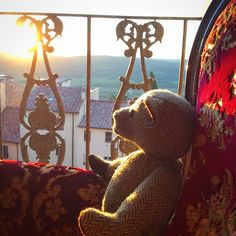 #tweedyted in reflective mood on his last night in #Tuscany in the delightful room of COSTANZA in CasadellaPia.eu !