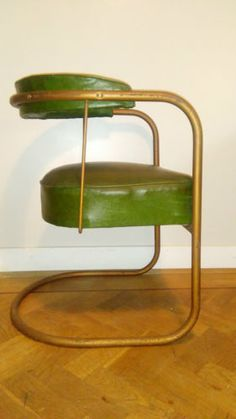 Rare 1930 INDUSTRIAL VINTAGE RETRO Horseshoe Cantilever Armchair COX PEL BERNARD in Antiques, Antique Furniture, Chairs, 20th Century | eBay