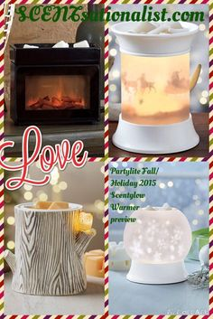 Partylite Fall/Holiday 2015 Scentglow Warmer Preview