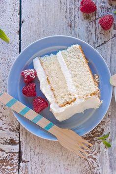 Tender White Cake Recipe