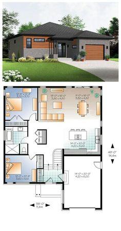 Casa moderna com garagem