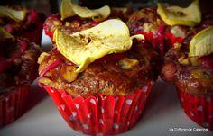 La Différence: Blackberry, Apple & Hazelnut Muffins
