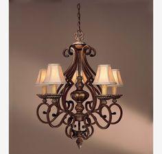 Minka Lavery Belcaro 5 Light Chandelier in Ceiling Lights, Chandeliers, Indoor Chandeliers: ProgressiveLighting.com