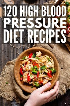 120 High Blood Pressure Diet Recipes | If you're looking for natural remedies to prevent heart disease, we're sharing 120 breakfast, lunch, dinner, and snack recipes to boost your heart health! This collection of mix and match meals can be used to create your own customized menu plans, making sure you create shopping lists filled with healthy foods your heart will love! Making big lifestyle changes can feel scary, but these recipes will help you lose weight and lower your cholesterol to boot! Brain Healthy Foods, Heart Healthy Diet, Healthy Meals For Two, Heart Healthy Recipes, Healthy Eating, Dash Diet Recipes, Snack Recipes, Health Recipes, High Blood Pressure Diet