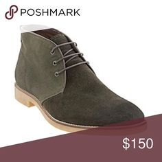 ⭐️ SALE ⭐️ Banana Republic Peter Sweed chukka boot 1x HOST PICK ⭐️ Banana Republic - 8.5 Sweed Peter boot (chukka looking boot). Olive green color. Brand new never been worn. With box. Men's 8.5. Original price includes tax. Any questions - feel free to leave a comment below. ⭐️⭐️ MARKED DOWN FOR LIMITED TIME ⭐️⭐️ Banana Republic Shoes Chukka Boots
