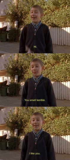 Malcolm in the Middle- Dewey's Dog (whom he named Marshmallow)