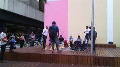 Xadrez gigante na São Bento #pinmycity #saopaulo
