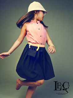 Fashion Black Skirt for Summer 15 from LEOCA Paris