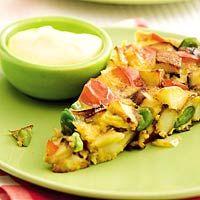 Recept - Spaanse groenteomelet - Allerhande