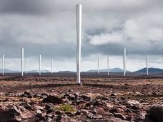 The Vortex, a radical new way to generate wind energy, is a bladeless wind turbine that looks like a giant rolled joint shooting into the sky.