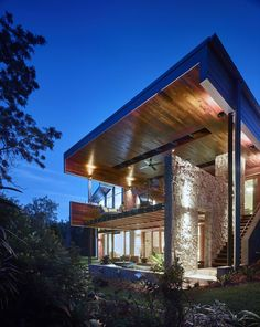 The Creek House by Shaun Lockyer Architects - CAANdesign | Architecture and home design blog