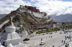 The Potala Palace in Tibet, it was quite a place! I visited here when I was still adjusting to the high altitude, so I was moving slooowly.