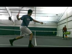 The Catch and Hit Forehand Drill - YouTube