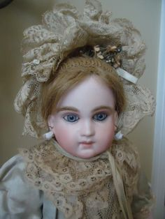 Fabulous Original Early Schmitt Bebe from dollmary on Ruby Lane