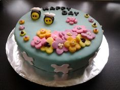 Marzipan summer cake
