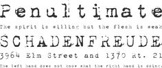 This is the font for my Warrior tattoo - 1942 Report