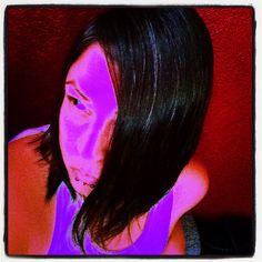 #photog #fun #selfie #hair #tank #pink #purple #red #black #edit #pigpaint