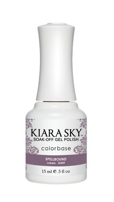 Kiara Sky Soak-Off  UV Gel Polish Spellbound G549. Our patented formula assures long lasting wear and high-gloss shine that resists fading and color changes over time. The only gel polish in the market that can be applied as a three or two-step system. Yes, you heard it right base coat application is completely optional. Finally every woman has a choice! Perfect over natural nails, overlays and pedicures. Cure 30 seconds under LED lamp or 2 minutes under UV lamp. Removes quickly and…
