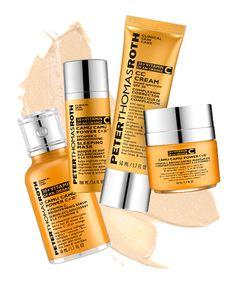 Overnight Skin Care Masks Peter Thomas Roth Camu Camu Power C Anti-Wrinkle Brightening Kit