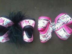 hello kitty bow by MyLilGirlsBoutique on Etsy, $6.99