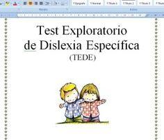 Test Exploratorio de Dislexia Específica