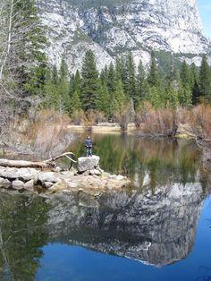 Go Explore Nature: Hiking in Yosemite With Kids: Mirror Lake
