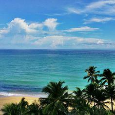 """Discovered by Gregory Cassatt, """"Balcony view"""" at San Juan Marriott Resort & Stellaris Casino, San Juan, Puerto Rico"""