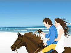 Wild horse powerpoint template is a free horse powerpoint template download free beach couple horse animal barbie take full control over toneelgroepblik Choice Image