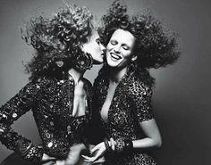 The glam rock of the 70s W Magazine, february 2009 ph. Mert&Marcus