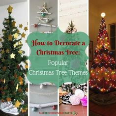 In this article, How to Decorate a Christmas Tree: 4 Popular Christmas Tree Themes, we go a step further. We will show you some of the most common and fun themes that people use to decorate their Christmas trees around the holidays. Christmas Angel Crafts, Christmas Craft Projects, Christmas Tree Themes, Christmas Ornaments, Minimalist Christmas Tree, Traditional Christmas Tree, Happy Christmas Day, Nautical Christmas, Craft Free