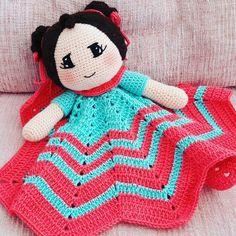 Security blanket, securtiy crochet blanket, security Princess blanket