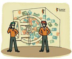Administración de la privacidad dentro del Contact CenterExperiencia del Cliente #Customer Experience #Consumer #cliente #CXO  #custexp Ilustración creada por Luxortec.com
