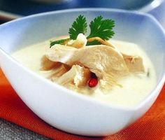 Thai Coconut Lemongrass Soup Recipe