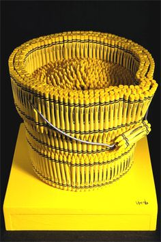 Currently browsing Crayon Sculpture Artist – Herb Williams for your design inspiration Yellow Fever, Yellow Sun, Lemon Yellow, Shades Of Yellow, Mellow Yellow, Black N Yellow, Color Yellow, Bright Yellow, Mustard Yellow