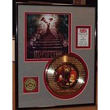 "Led Zeppelin ""Stairway To Heaven"" Framed 24Kt Gold Record Etched W/ Lyrics Rare Music Memorabilia @ Music2Swing2.com"