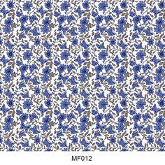 Hydro printing film flower pattern MF012