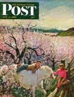 Apple Blossom Time (John Clymer, May 6, 1950)