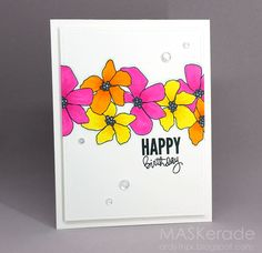 MASKerade: Seize the Birthday - Another Floral Multiple