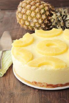 """Diaporama """"9 délicieux gâteaux à faire sans four"""" - Gâteau à l'ananas sans four"""