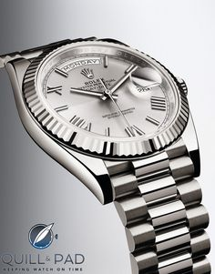 Rolex Day-Date 40 in white gold