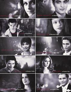 Breaking Dawn pt. 2 Characters.... mostly