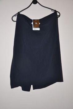 Ladies skirt *S49* Dorothy Perkins pencil dark navy blue - size 18 - BNWT £18