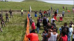 Arrests Continue As Over 250 American Indian's Protest Pipeline In North...