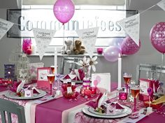 ava 7 - communie 2014 - communietafel meisjes