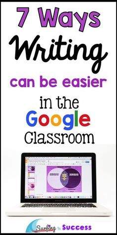 7 Ways Writing Can Be Easier in the Google Classroom | Help your students during writer's workshop in a whole new way.