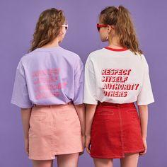 부가이미지 썸네일 Shirt Print Design, Tee Design, Shirt Designs, Tween Fashion, Retro Fashion, Fashion Outfits, Aesthetic Shirts, Apparel Design, My T Shirt