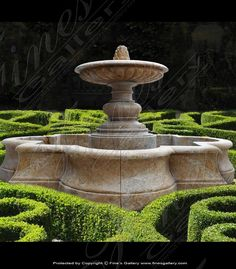 Create a peaceful and enchanting oasis in your favorite outdoor area with this beautiful fountain. Carved from gorgeous Antique Gold Granite, its natural beauty and lavish waterfalls creates a scene of perfect elegance. Patented