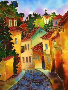 Tiny Street ~ Yelena Sidorova