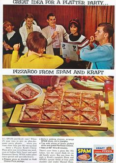 Spam pizza!